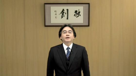 Saturo Iwata, presidente global de Nintendo, durante la Nintendo Direct