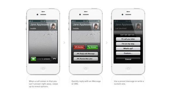 Nuevas funciones de las llamadas