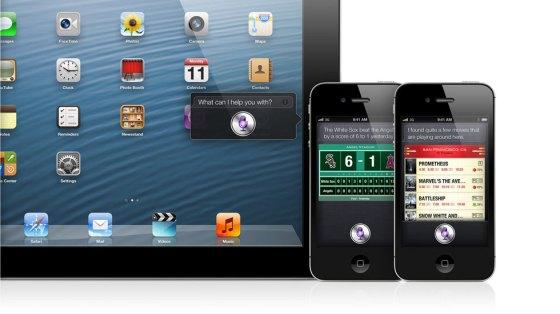 Siri ejecutandose tanto en el iPhone como en el iPad