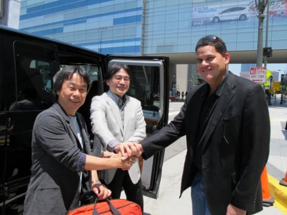 El trio Nintendo