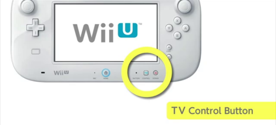 WiiUpad Control TV