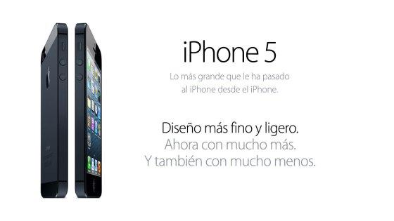 iPhone 5: Lo más grande que le ha pasado el iPhone desde el iPhone