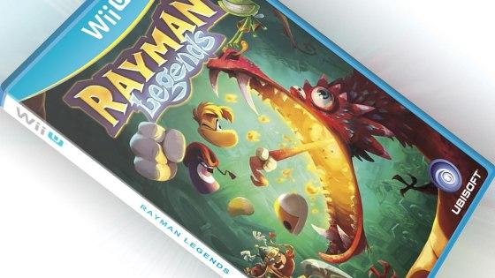 Carátula provisional de Rayman Legends