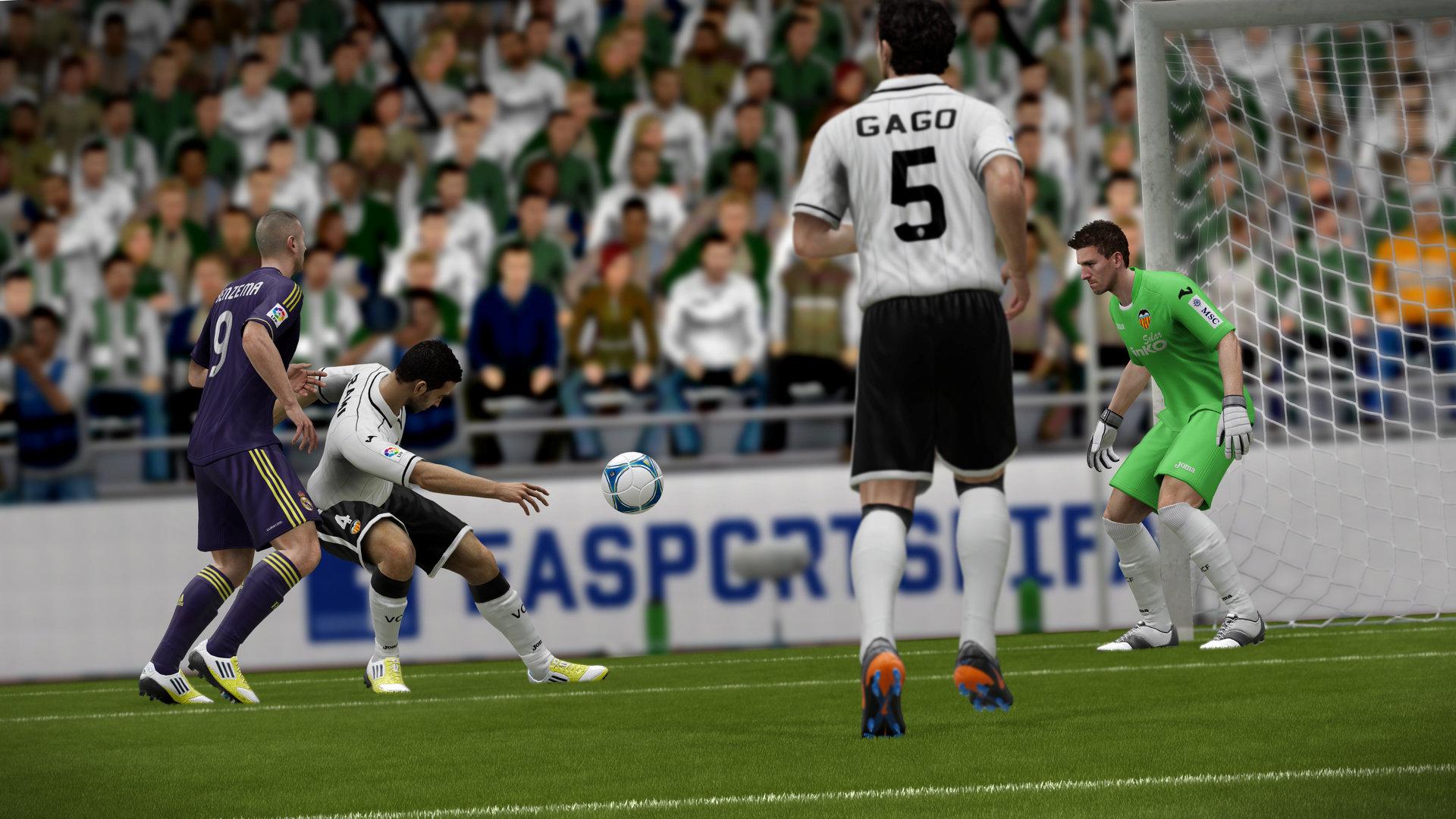 Nuevas características de FIFA 13 para WiiU