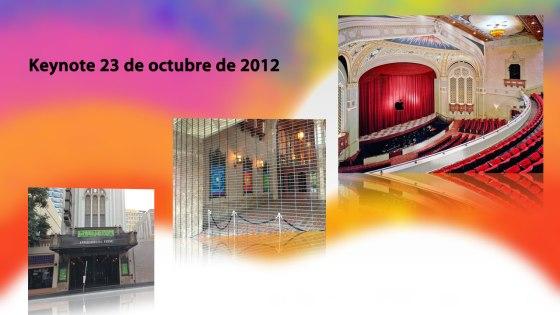 Imágenes del Teatro California