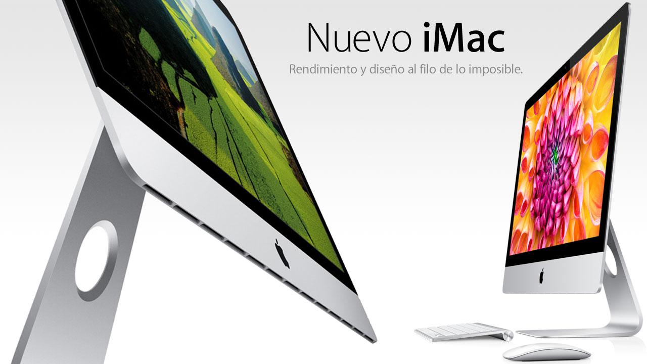 Nuevo iMac. Rendimiento y diseño al filo de lo imposible
