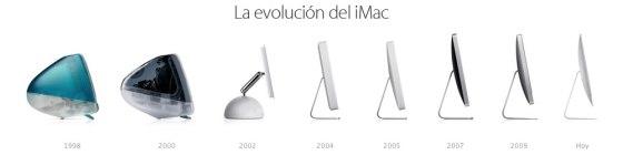 Keynote 23 Oct - iMac - Evolución