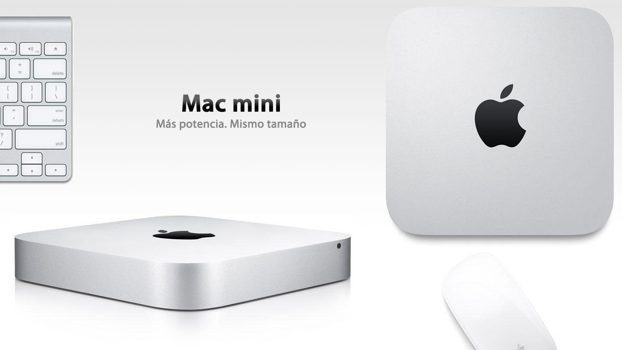 Mac mini. Más potencia, mismo tamaño.