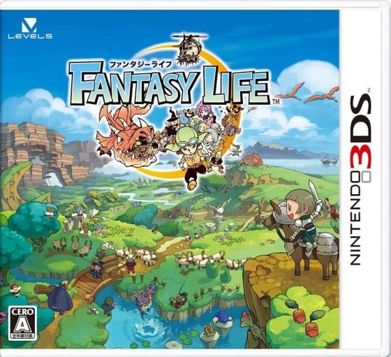 Fantasy Life portada 3DS