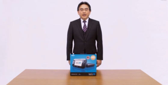 Iwata y la WiiU