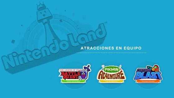 Nintendo Land - Atracciones en Equipo