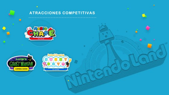 Nintendo Land - Atracciones Competitivas