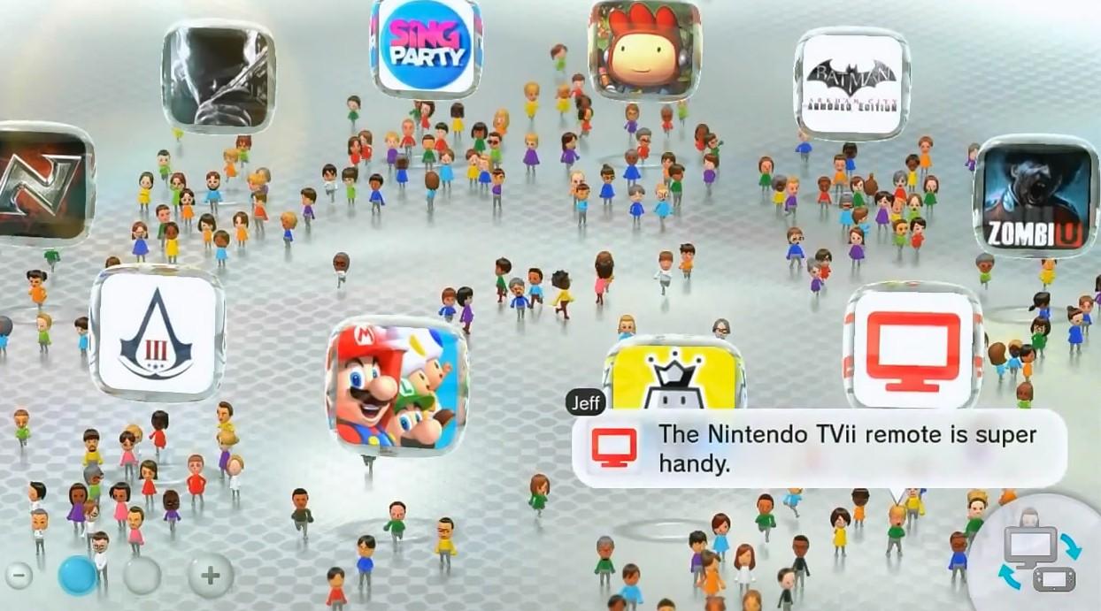 Resumen de todas las caracteristica descubiertas en WiiU.