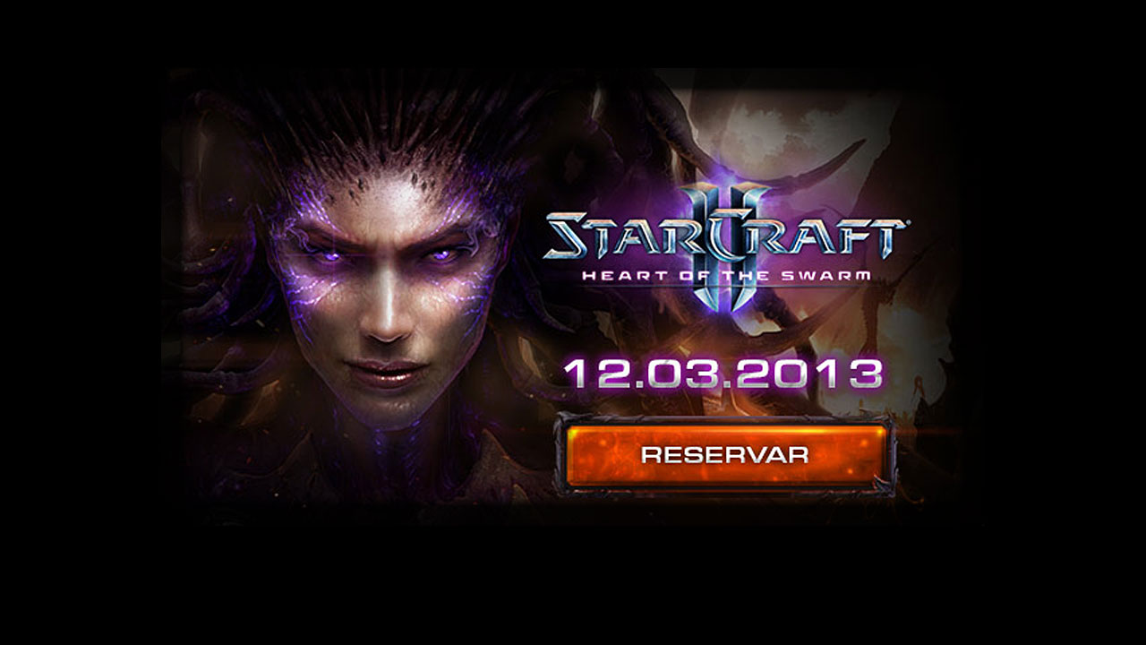 Blizzard abre el periodo de reserva de StarCraft 2: Heart of the Swarm