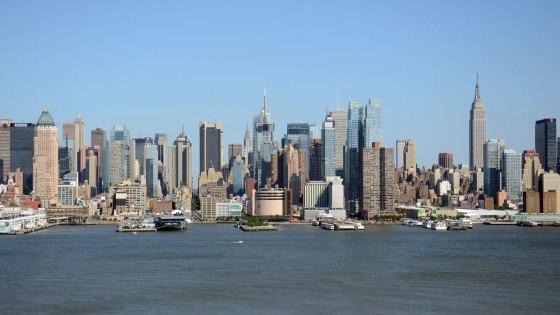 Vista panorámica de Nueva York