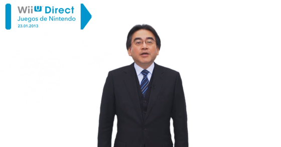 Iwata Nintendo Direct 23 ene 13