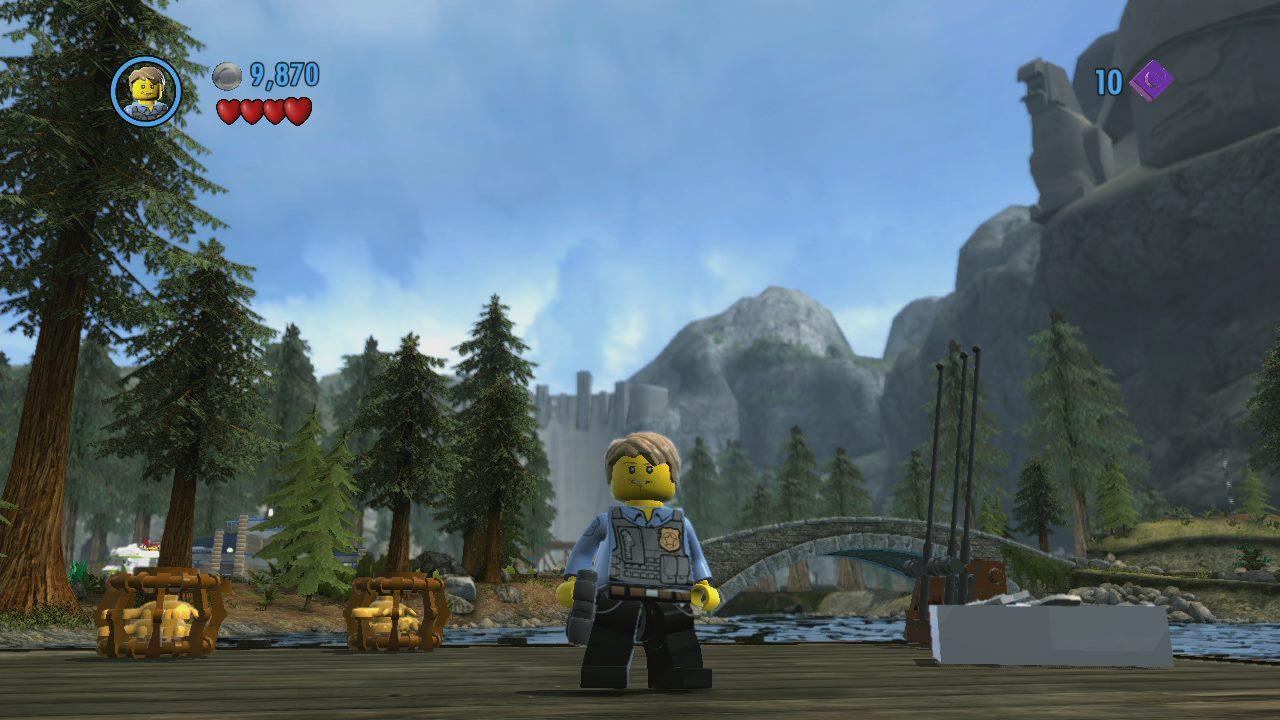 Nueva remesa de imagenes de Lego city: Undercover