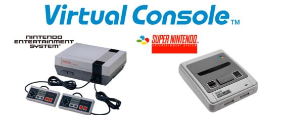 NES y SuperNes Consola Virtual WiiU