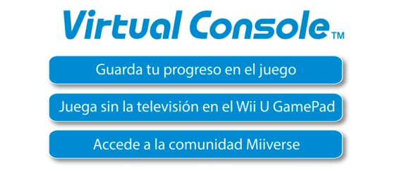 Novedades Consola Virtual Wii U