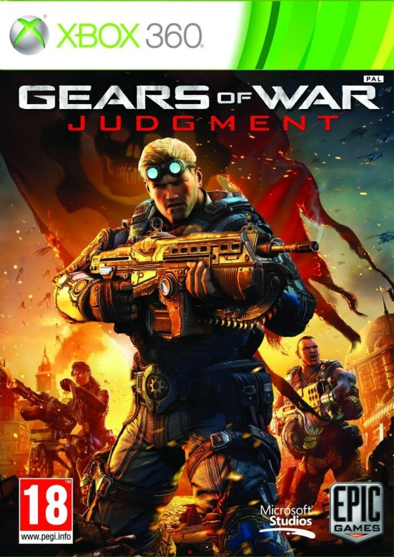Portada Gears of War Judgment