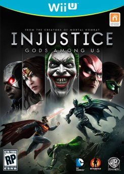 Caratula Injustice Gods Among Us WiiU
