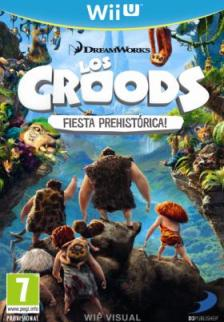 Caratula Los Croods Fiesta Prehistorica