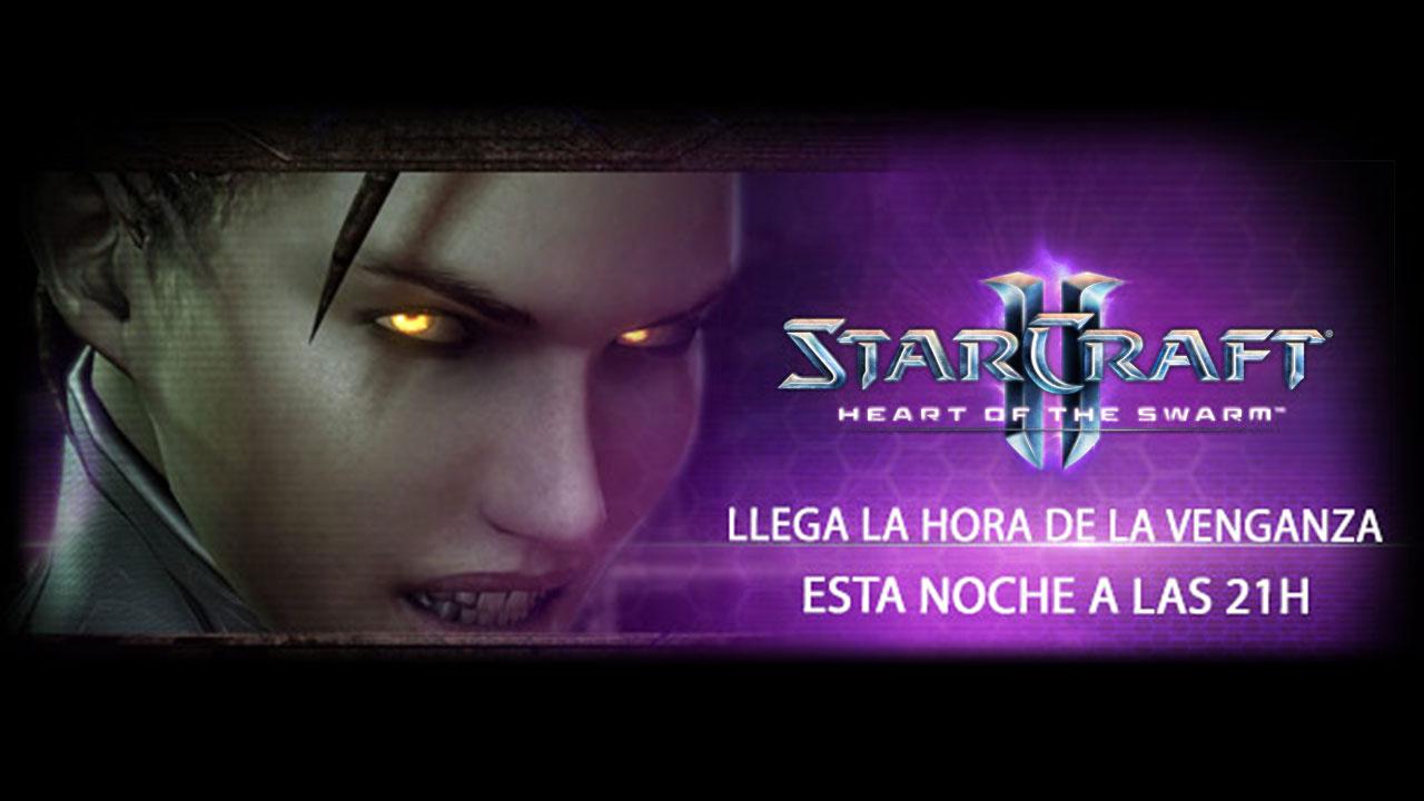 [ACT] Esta noche a las 21:00h estreno del nuevo tráiler de StarCraft 2: Heart of the Swarm