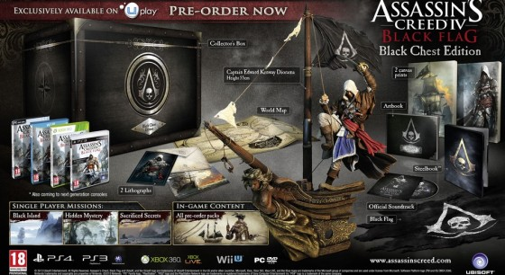 Assassins Creed 4 Black chest cofre negro edicion 00