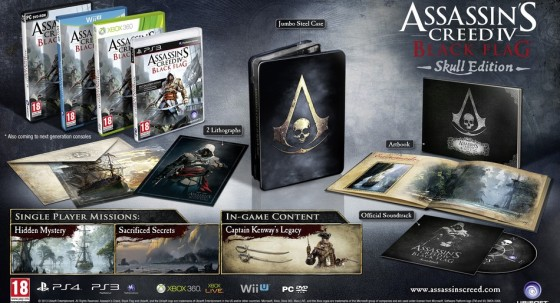 Assassins Creed 4 Skull edicion 00