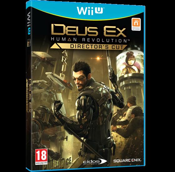 Deus Ex Wii U caja 00