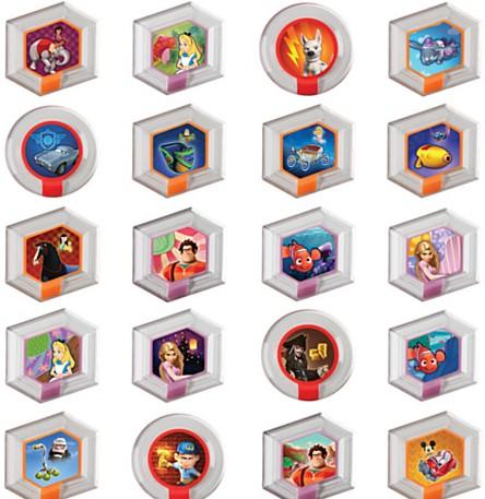 Fichas Disney Infinity 00