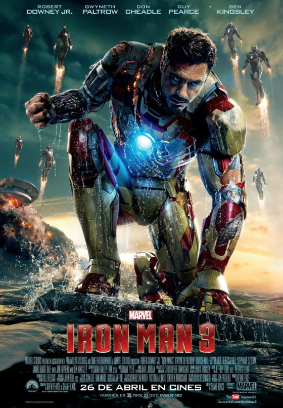 Iron Man 3 Poster oficial 00