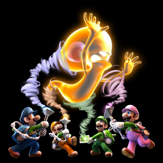 Luigis mansion art 00