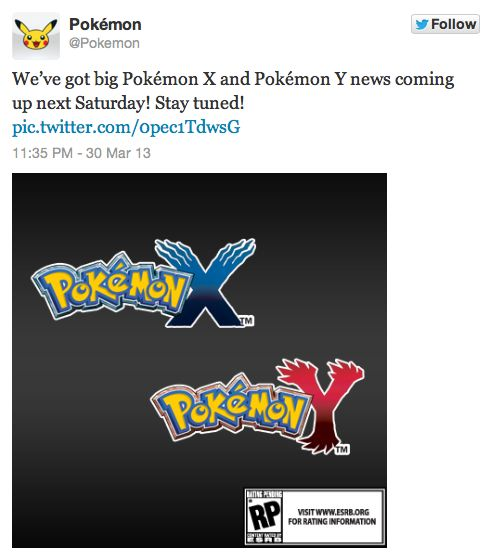 Twitter oficial Pokemon 00