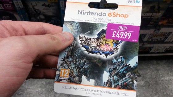 GAME eShop Card
