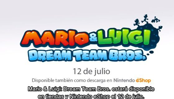 Mario y Luigi Dream Team 00