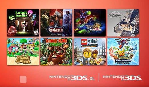 Nintendo te regala un juegazo, al comprar otros 3 potentes titulos de 3DS