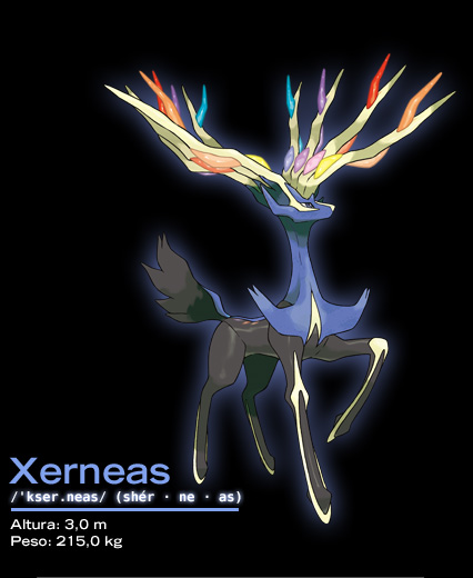 Xerneas Pokemon X e Y