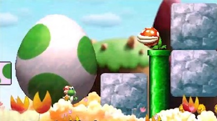 Yoshis island 3DS 10