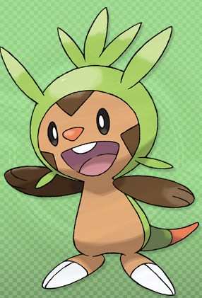 Chespin PokemonXY 3DS 01