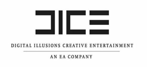 DICE Logo blanco