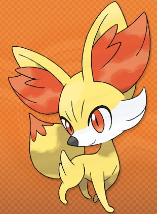Fennekin PokemonXY 3DS 01