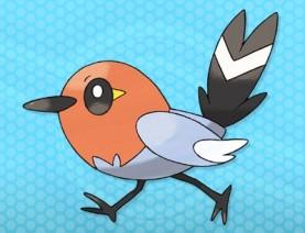 Fletchling PokemonXY 3DS 01