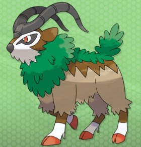 Gogoat PokemonXY 3DS 01