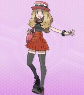 Heroina Chica PokemonXY 00