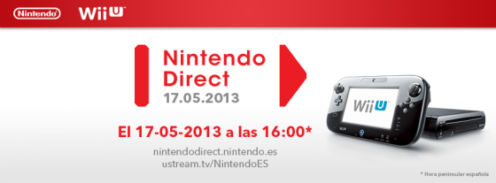 Nintendo Direct 17Mayo 2013
