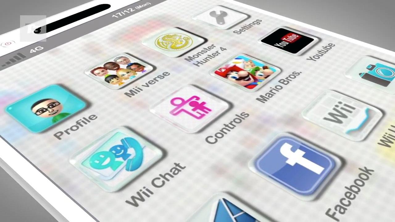 ¿Como sería un smartphone de Nintendo?