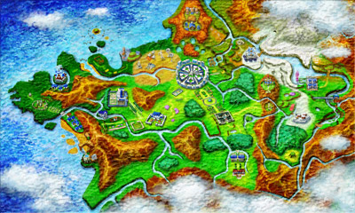 Pokemon XY Region Kalos