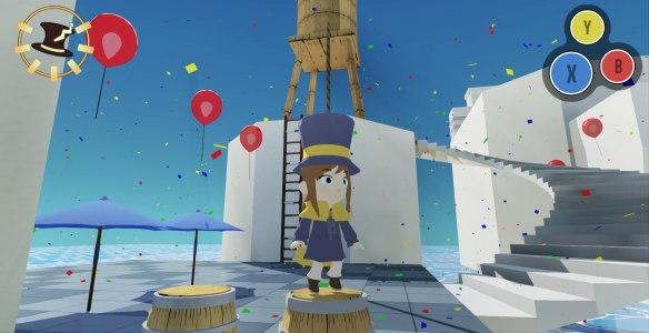 """Exito de recaudación de A HAT IN TIME. Juego de plataformas con toque """"Zelda: Wind Walker"""""""