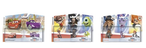 Packs figuras Disney Infinity 00